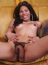 Shemale cock sucking cum